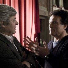 Jean Sorel e Massimo Ranieri in una scena del film L'ultimo Pulcinella