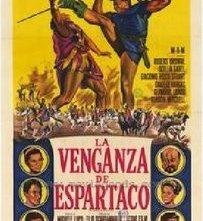 La locandina di La vendetta di Spartacus