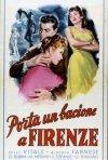 La locandina di Porta un bacione a Firenze