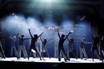Un'immagine di gruppo del film Fame