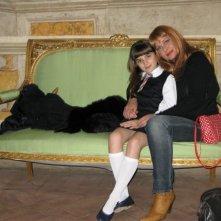 Claudia Muzi e Angelica Cinquantini sul set de I Cesaroni 3