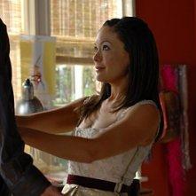Lindsay Price nel ruolo di Victory nell'episodio 'Chapter Seven: Carpe Threesome' della serie tv Lipstick Jungle