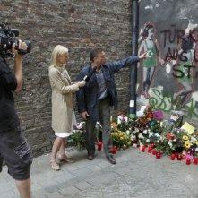 Massimo Ghini in una scena del film per la tv Sui tuoi passi