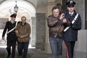 Ricky Tognazzi ed Enzo Iacchetti in un'immagine del film L'ultimo crodino