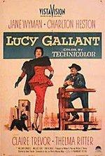 La locandina di Lucy Gallant