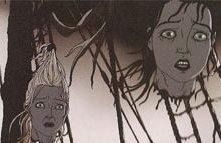 Una scena tratta dal corto Tales of the Black Freighter