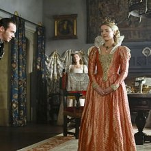 Jonathan Rhys Meyers e Joanne King nella terza stagione della serie tv 'I Tudors'