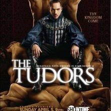 Un poster della terza stagione de I Tudors