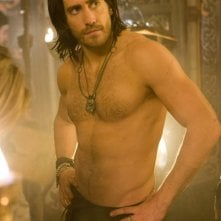 Jack Gyllenhaal sul set di Prince of Persia: Sands of Time