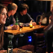 Brooke Shields e Paul Blackthorne nell'episodio 'Chapter Nineteen: Lovers' Leap' della serie Lipstick Jungle