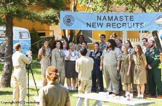 Foto di gruppo dell'episodio Namaste di Lost