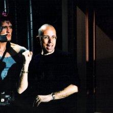 Oreste Guidi sul set accanto a Gabriele Salvatores