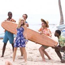 Miley Cyrus in un'immagine del film Hannah Montana: The Movie