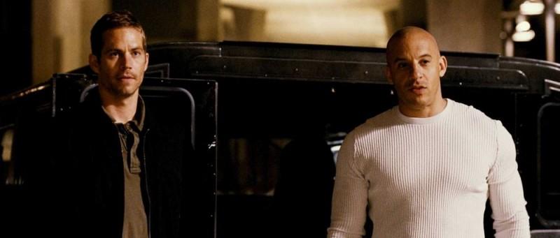 Paul Walker e Vin Diesel sono i protagonisti del film Fast and Furious - Solo parti originali