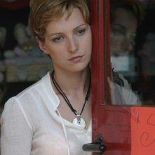 Clotilde Sabatino in una scena del film Il sogno nel casello