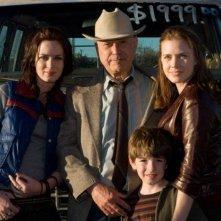 Emily Blunt, Alan Arkin, Jason Spevack e Amy Adams in una foto promozionale del film Sunshine Cleaning