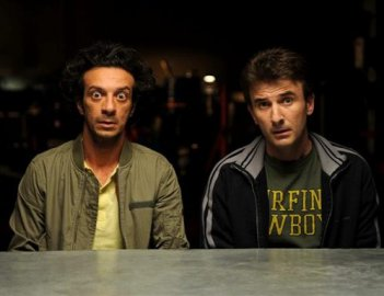 Ficarra e Picone in un'immagine del film La matassa