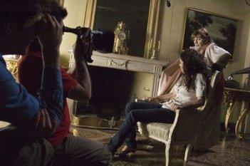 Morena Salvino e Piera Degli Esposti sul set del film Principessa