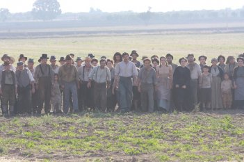 Una scena del film TV di Rai Fiction Pane e libertà