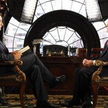 William Baldwin e Dan Rather nell'episodio 'The Facts' della serie tv Dirty Sexy Money