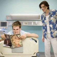 Zach Cregger e Trevor Moore in una sequenza del film Miss March