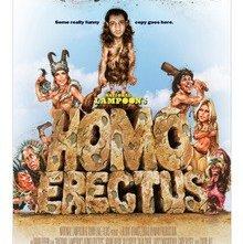 La locandina di Homo Erectus