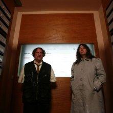 Bouli Lanners e Yolande Moreau in un'immagine del film Louise & Michel