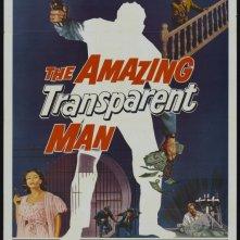 La locandina di L'incredibile uomo trasparente