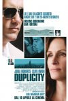Locandina italiana di Duplicity