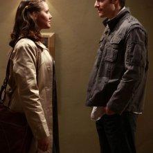 Miracle Laurie e Tahmoh Penikett in una scena dell'episodio Echoes di Dollhouse