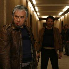 Gérard Lanvin in una scena del film Nemico pubblico n°1 - L'ora della fuga