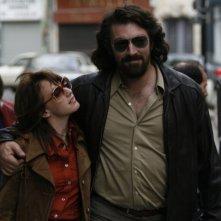Ludivine Sagnier e Vincent Cassel in una scena del film Nemico pubblico n°1 - L'ora della fuga