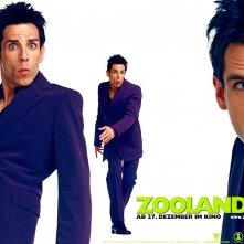 Un wallpaper del film Zoolander con Ben Stiller