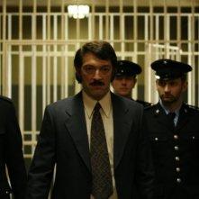 Vincent Cassel in una sequenza del film Nemico pubblico n°1 - L'ora della fuga
