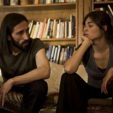 Cristiano Godano e Kasia Smutniak in una scena del film Tutta colpa di Giuda