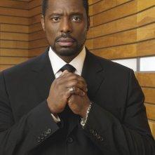 Eamonn Walker è il Reverendo Ephram Samuels in una foto promozionale della serie Kings