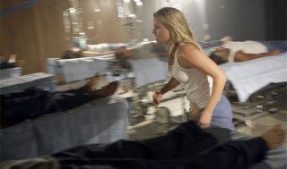 Ali Larter in una scena di Cold Snap dalla terza stagione di Heroes