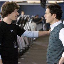 Andy Samberg e Paul Rudd in una scena del film I Love You, Man
