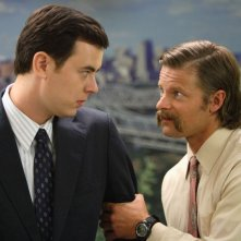 Colin Hanks e Steve Zahn in una scena del film The Great Buck Howard