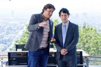 Jason Segel e Paul Rudd in una scena del film I Love You, Man