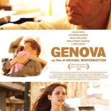 La locandina italiana di Genova