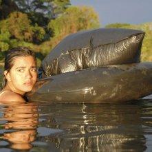 Paulina Gaitan in una scena del film Sin Nombre