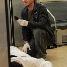 Carmine Giovinazzo in una scena dell'episodio 'Communication Breakdown' della serie tv CSI - New York