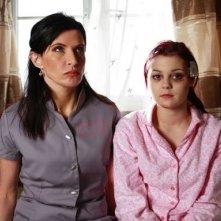Megan Prescott in una foto promozionale dell'episodio 'Katie & Emily' della terza stagione della serie tv Skins