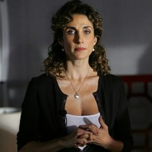 Melina Kanakaredes in una scena dell'episodio 'Prey' della serie televisiva CSI - NY
