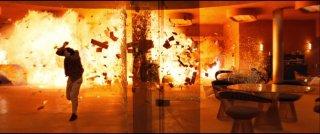 Un'immagine presa dal Blu Ray di Quantum of Solace
