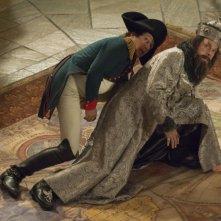 Alain Chabat e Christopher Guest in una sequenza di Una notte al museo 2: la fuga