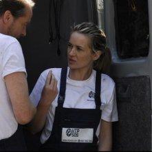Iain Glen e Kierston Wareing in una scena del film Il caso dell'infedele Klara