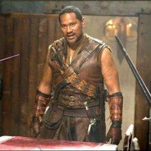 Jay Laga'aia in una scena dell'episodio 'Hartland' della serie televisiva Legend of the Seeker
