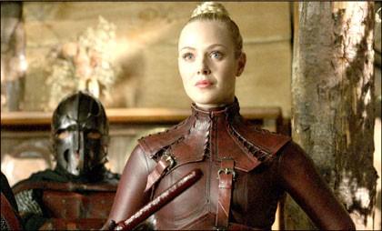 Jessica Marais Nel Ruolo Della Mord Sith Denna Nell Episodio Bloodline Della Serie Tv Legend Of The Seeker 109333
